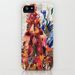 Righteous rooster iPhone Case