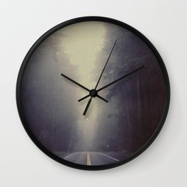 Long Road, Redwoods National Park. Instant Film Wall Clock