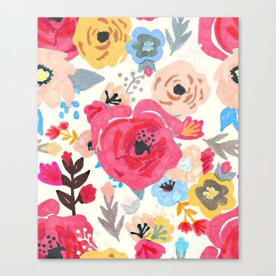 Summer Flora Canvas Print