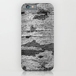 Tree Texture Camouflage Pattern iPhone Case