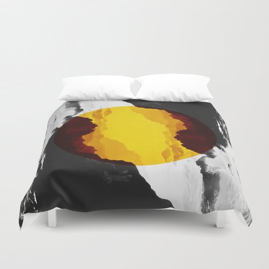 Circle Coast  Duvet Cover
