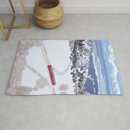 One winter day Rug