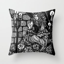 His Angel of Music Throw Pillow