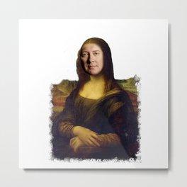 Alan Shore x Mona Lisa Metal Print