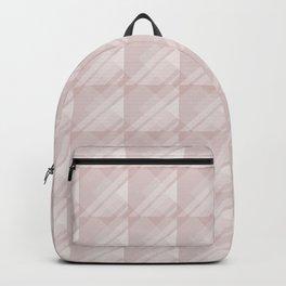 Modern Geometric Pattern 7 in Shell Pink Backpack