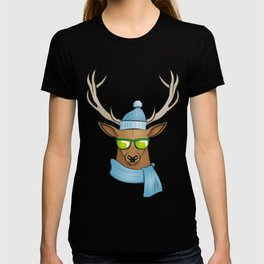 cool stag T-shirt