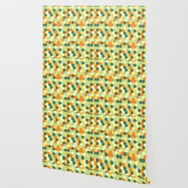 Hexagonal geometric pattern Wallpaper