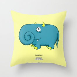 Floogalsnort Throw Pillow