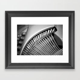 The Written Word Framed Art Print