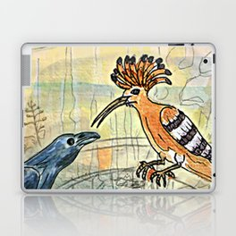 The Crow and the Hoopoe Laptop & iPad Skin
