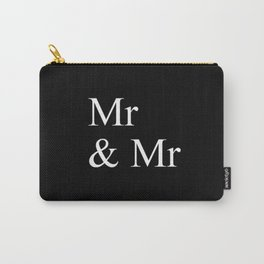 Mr & Mr Monogram standard Carry-All Pouch