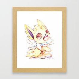 Cute little Jolteon Framed Art Print