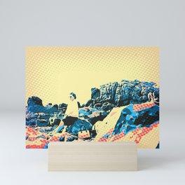 Look far away Mini Art Print
