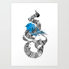 Tweet Your Art. Art Print
