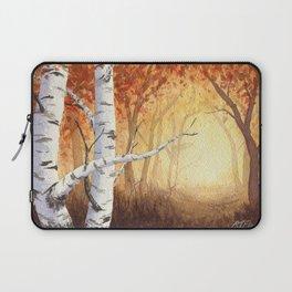 Autumn Birches Laptop Sleeve