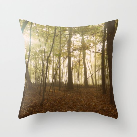 A Secret World Throw Pillow