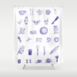 Heart of the Home Shower Curtain
