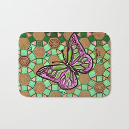 Butterfly #1 Bath Mat