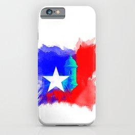 San Juan P.R Watercolor iPhone Case