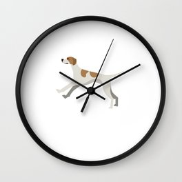 WHEEEEEH! Pet Lover Dog Animal Rescue Animals Dog Foster Wall Clock