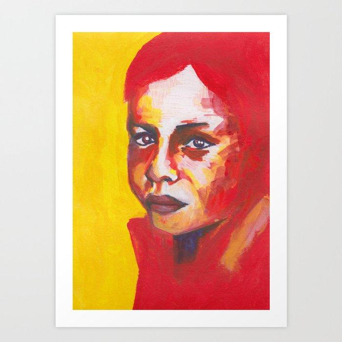Nos étrangers 1 Art Print
