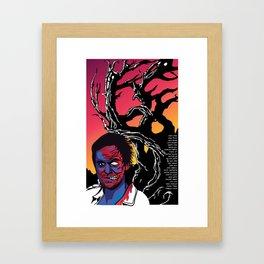 Murderous Man Framed Art Print