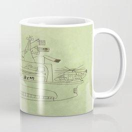The USS Ryan Carrier Coffee Mug