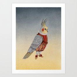 Petit monsieur Maxime Art Print