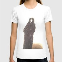 snape T-shirts featuring Snape portrait to remember his death RIP Alan Rickman by Drake Darklight