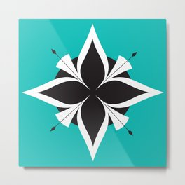 Compass Rose 2 Metal Print