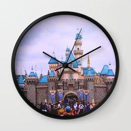 Sleeping Beauty Castle Wall Clock
