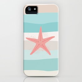 AFE Coral Starfish iPhone Case