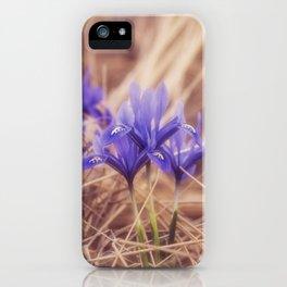 Small Iris iPhone Case