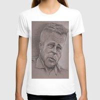brad pitt T-shirts featuring Brad by chadizms