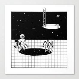 Cosmic pool Canvas Print
