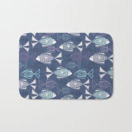 Here, Fishy Fishy Bath Mat