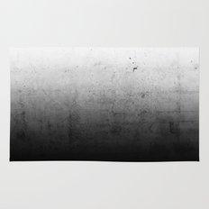 Black Ombre Concrete Texture Rug