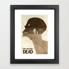 Don't Worry, Clementine - The Walking Dead Poster Framed Art Print