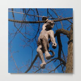 Let's Get Into Some Monkey Business Metal Print