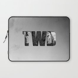 The Walking Dead 6 Morgan and Rick Laptop Sleeve