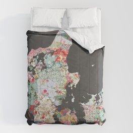 Danemark map #2 Comforters