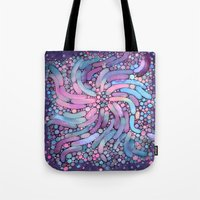 mosaic Tote Bags featuring Mosaic by Antracit