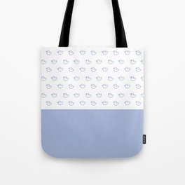 Ducklings light blue Tote Bag