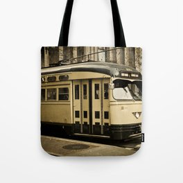 San Francisco Street Car Tote Bag
