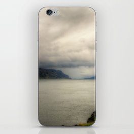 Columbia River on a Cloudy Day iPhone Skin