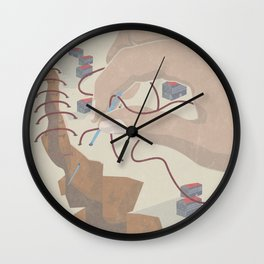 STATES OF EMERGENCY Wall Clock