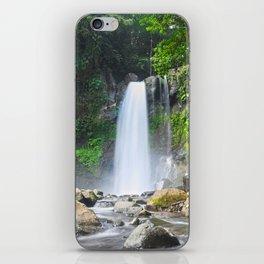 Third carbet's fall iPhone Skin
