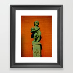 Southside Cherub Framed Art Print
