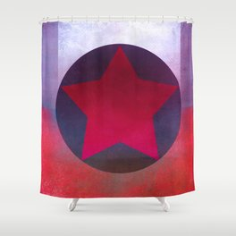 Star Composition X Shower Curtain