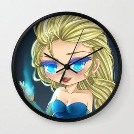 [Frozen] Chibi Elsa Wall Clock